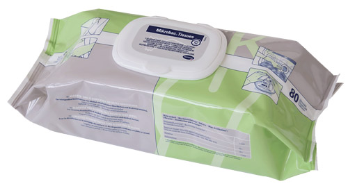 how to clean organic tissue medical